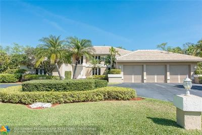 Coral Springs Single Family Home For Sale: 7777 NW 55th Pl