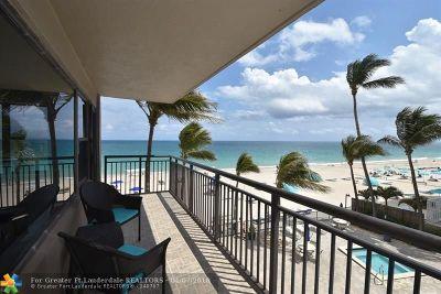 Fort Lauderdale Condo/Townhouse Backup Contract-Call LA: 3800 SE Galt Ocean Dr #306