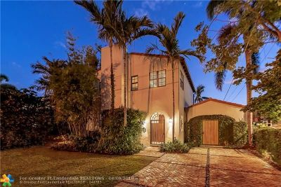 Fort Lauderdale Single Family Home For Sale: 1650 SE 7th St