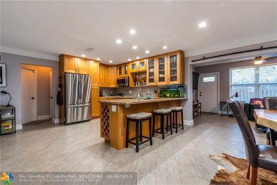 Pompano Beach Single Family Home For Sale: 1850 NE 27th Ave.