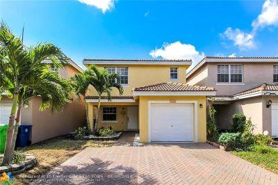 Sunrise Single Family Home Backup Contract-Call LA: 9288 NW 55th St