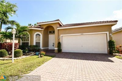 Coral Springs Single Family Home For Sale: 11606 NW 48th St