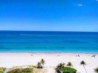 Pompano Beach Condo/Townhouse For Sale: 1390 S Ocean Blvd #12F