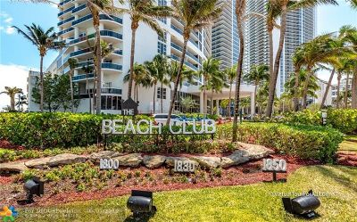 Hallandale Condo/Townhouse For Sale: 1850 S Ocean Dr #808