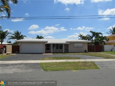 Pompano Beach Single Family Home For Sale: 360 SE 1st Ter