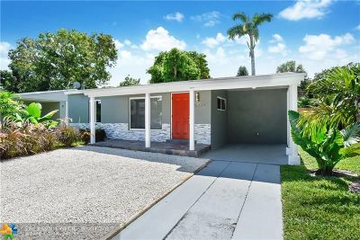 Oakland Park Single Family Home For Sale: 5273 N Andrews Ave