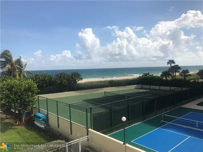 Lauderdale By The Sea Condo/Townhouse For Sale: 1770 S Ocean Blvd #306