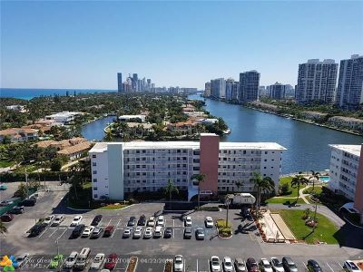 Hallandale Condo/Townhouse For Sale: 3161 S Ocean Dr #1608
