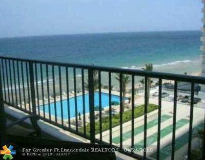 Fort Lauderdale Condo/Townhouse For Sale: 4280 Galt Ocean Dr #7K