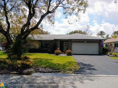 Coral Springs Single Family Home For Sale: 10868 NW 21st Pl