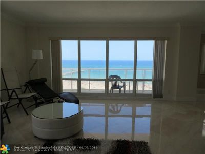 Pompano Beach Condo/Townhouse For Sale: 111 N Pompano Beach Blvd #1201