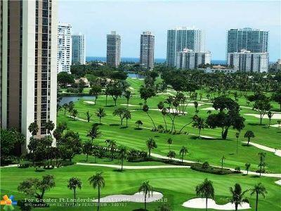 Aventura Condo/Townhouse For Sale: 20100 W Country Club Dr #1609
