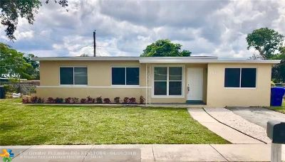 West Park Single Family Home Backup Contract-Call LA: 3340 SW 37th St