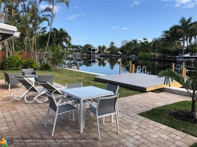 Wilton Manors Rental For Rent: 1965 Coral Gardens Dr