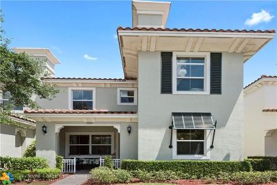 Sunrise Condo/Townhouse For Sale: 3220 NW 126th Ave #3220
