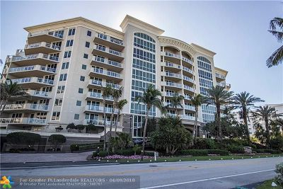 Hillsboro Beach Condo/Townhouse For Sale: 1063 Hillsboro Mile #703