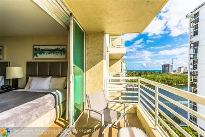 Fort Lauderdale Condo/Townhouse For Sale: 2670 E Sunrise Blvd #1009