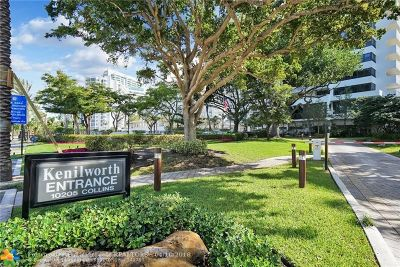 Bal Harbour Condo/Townhouse For Sale: 10205 Collins Ave #104
