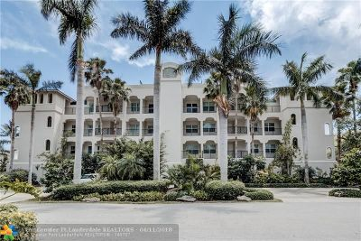 Fort Lauderdale Condo/Townhouse For Sale: 2720 NE 15th St #205