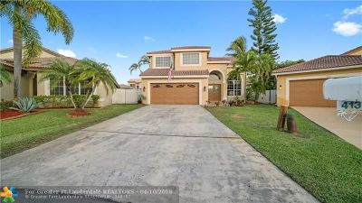 Pembroke Pines Single Family Home Backup Contract-Call LA: 413 SW 183rd Ter