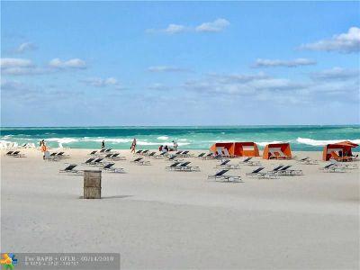Miami Beach Condo/Townhouse For Sale: 1446 Ocean Dr #29