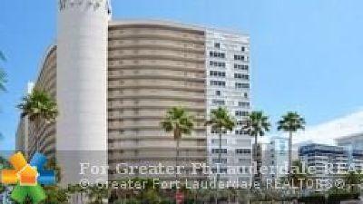 Condo/Townhouse For Sale: 4100 Galt Ocean Drive #1105