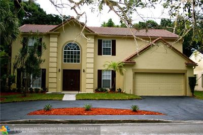 Coral Springs Single Family Home For Sale: 3568 Sanctuary Dr