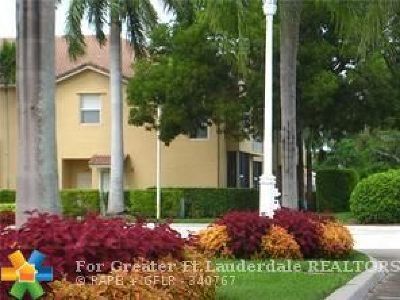 Broward County Condo/Townhouse For Sale: 2939 Crestwood Ter #7104