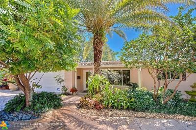 Coral Ridge Isles Single Family Home For Sale: 5130 NE 14th Ter
