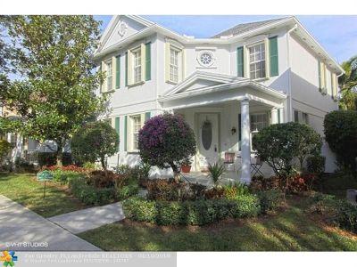 Jupiter Single Family Home For Sale: 312 St Lucia Ln