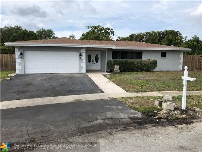 Tamarac Single Family Home Backup Contract-Call LA: 7501 NW 84th St