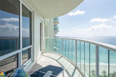 Fort Lauderdale Condo/Townhouse For Sale: 3400 Galt Ocean Dr #1710S