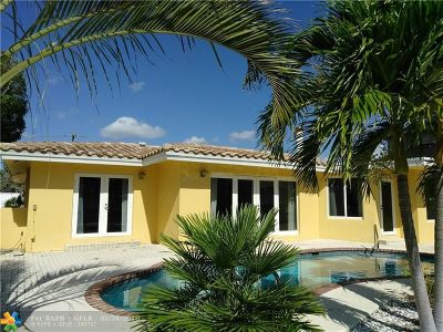 Lauderdale By The Sea Single Family Home For Sale: 1620 E Terra Mar Dr