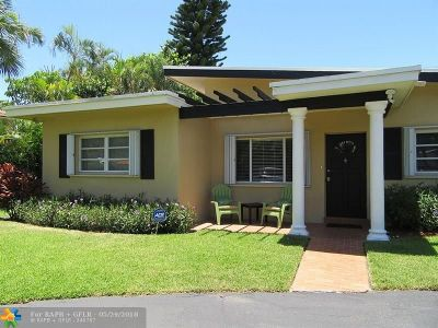 Pompano Beach Single Family Home For Sale: 3410 Barton Rd