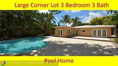 Fort Lauderdale Single Family Home For Sale: 1500 NE 16th Ter