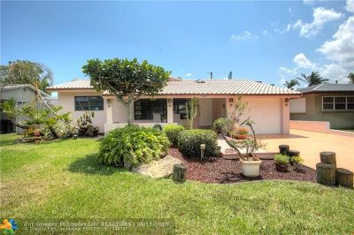 Fort Lauderdale Single Family Home For Sale: 806 NE 18th St