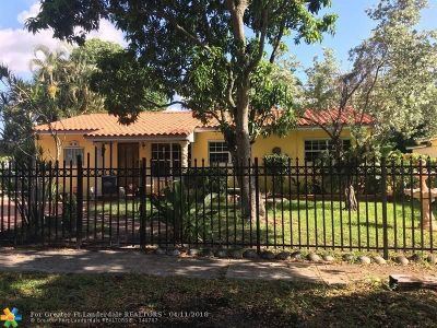 North Miami Beach Single Family Home For Sale: 1221 NE 152nd St