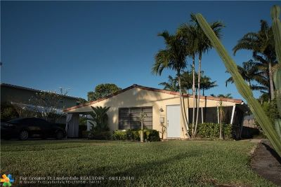Fort Lauderdale Single Family Home Backup Contract-Call LA: 1728 N Victoria Park Rd