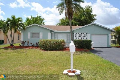 Tamarac Single Family Home For Sale: 9414 NW 73rd Ct