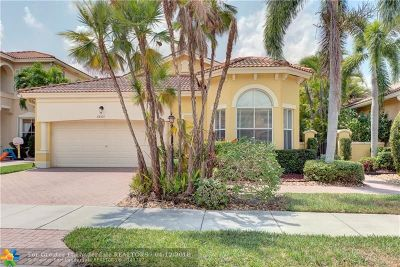 Coral Springs Single Family Home For Sale: 5864 NW 121st Ave