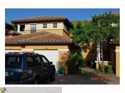 Parkland Condo/Townhouse For Sale: 8100 NW 128 #9B