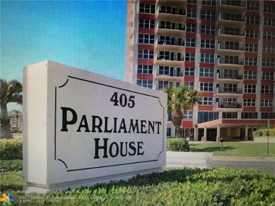 Pompano Beach Condo/Townhouse For Sale: 405 N Ocean Blvd #602