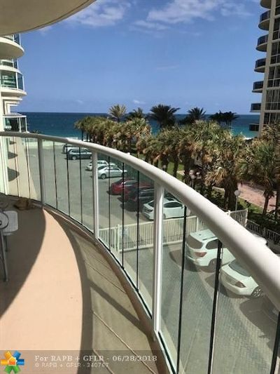 Fort Lauderdale Condo/Townhouse For Sale: 3400 Galt Ocean Drive #210 S