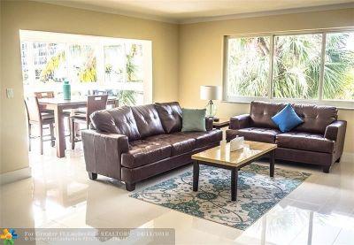 Pompano Beach Condo/Townhouse For Sale: 3201 NE 5th Ct #3
