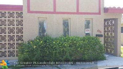 Fort Lauderdale Multi Family Home For Sale: 635 NW 22nd Rd