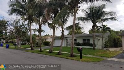 Pembroke Pines Single Family Home For Sale: 1061 NW 89th Ter