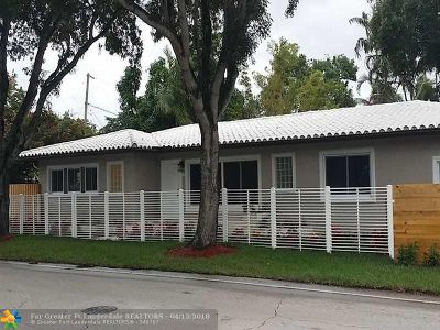 Fort Lauderdale Single Family Home For Sale: 1000 NE 6th St