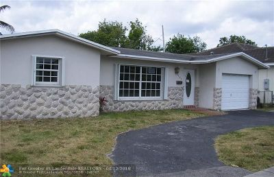 Lauderhill Single Family Home For Sale: 1101 NW 56th Ave