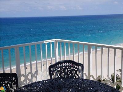 Pompano Beach Condo/Townhouse For Sale: 812 Briny Ave #10C