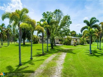 Plantation Single Family Home For Sale: 1580 NW 115th Ter